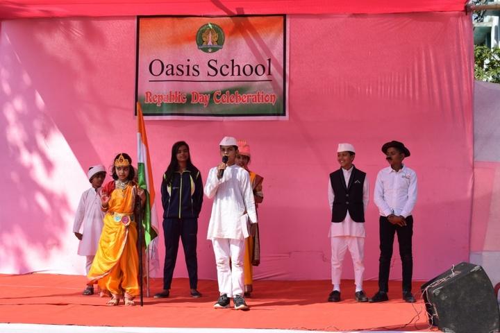 Oasis School-Republic Day