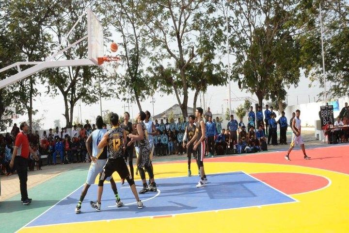 Yugantar Public School-Basket Ball Court
