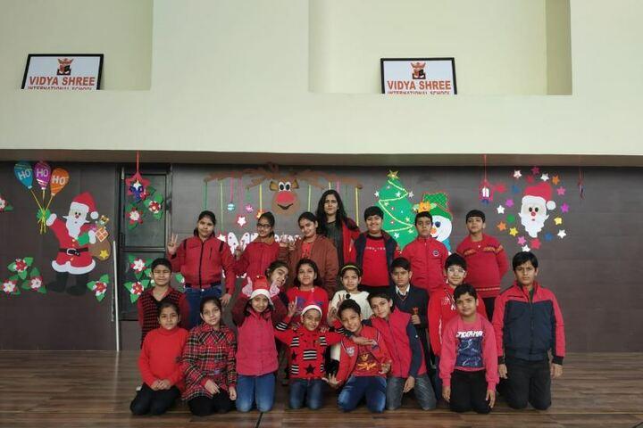Vidya Shree International School-Christmas Celebrations