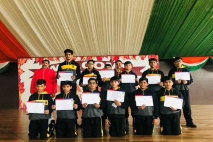 Vidya Shree International School-Reliance Youth Sports Achievement Winners