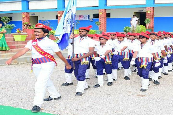 San International School-School Marching