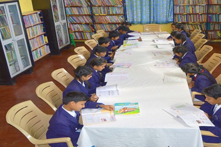 San International School-Library