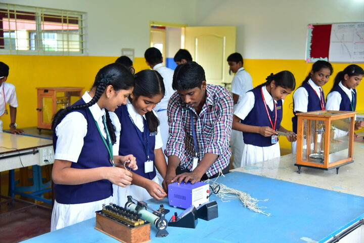 San International School-Physics Lab