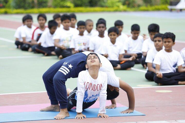 BGS World School-Yoga Activity