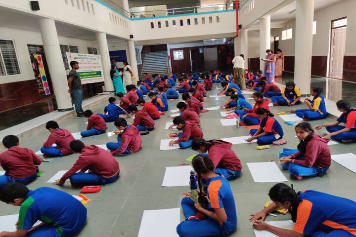 BGS World School-Drawing Competition