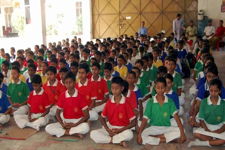 Rani Rewati Devi Saraswati Vidya Niketan Inter College-Meditation Activity