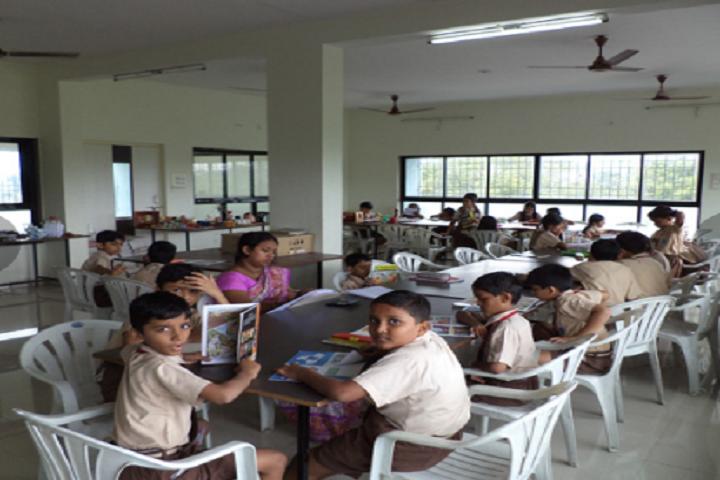 BAPS Swaminarayan Vidyamandir-Library
