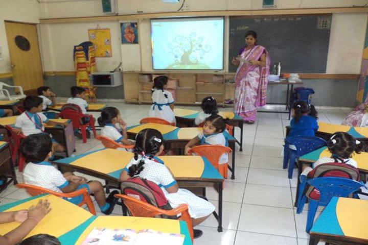 BAPS Swaminarayan Vidyamandir-Classroom