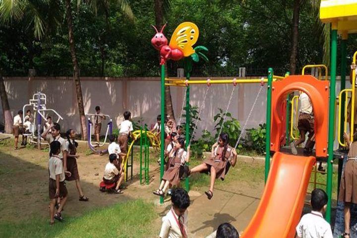 BAPS Swaminarayan Vidyamandir-Kids Play Ground