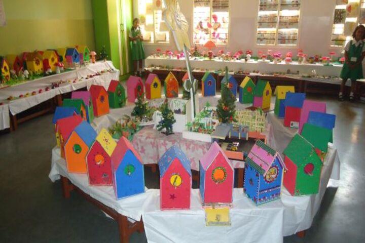 Nirmala Rani English Primary School-School Exhibition