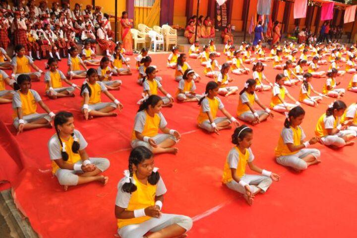 Nirmala Rani English Primary School-Yoga Activity