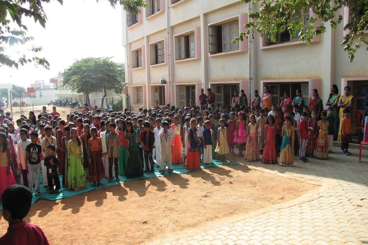 Pandithya Euro School-Morning Assembly