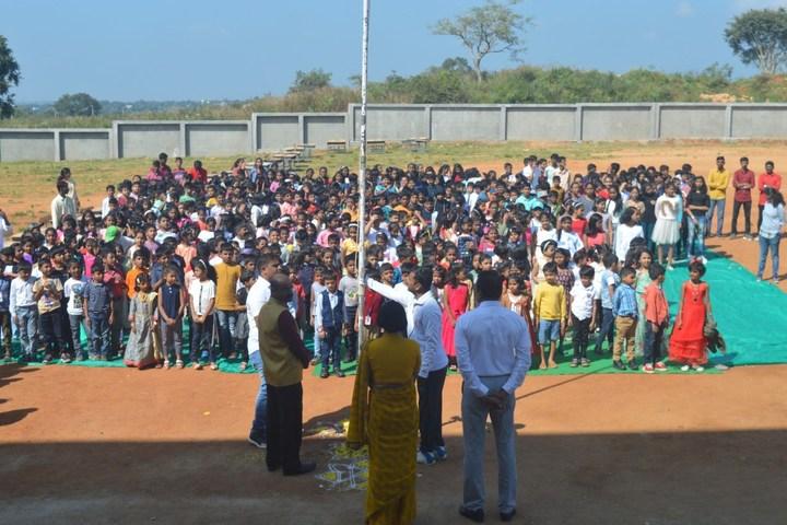Pandithya Euro School-Independence Day