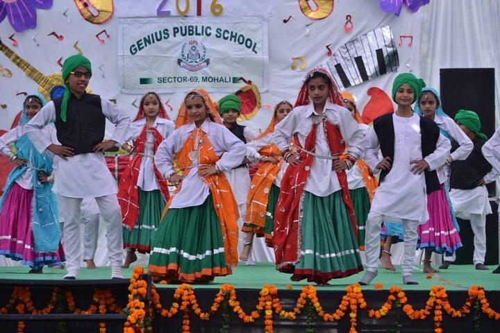 Genius Public Senior Secondary School-Dance