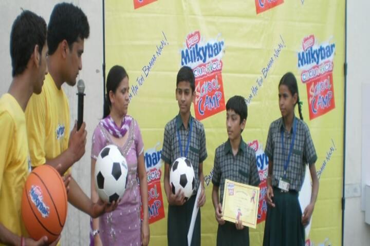 Genius Public Senior Secondary School-Sports Camp