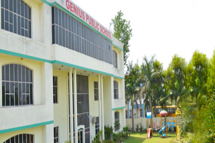 Genius Public Senior Secondary School-Campus Building