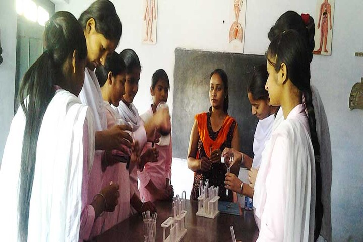 Arya Collegiate Senior Secondary Girls School-Science Lab