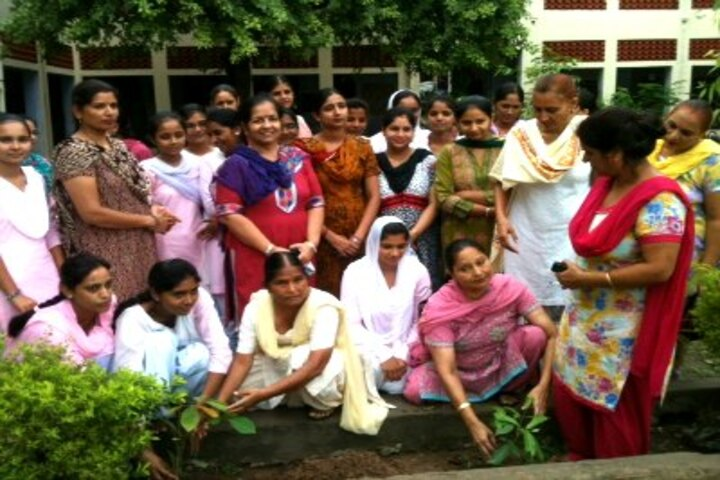 Arya Collegiate Senior Secondary Girls School-Tree Planting