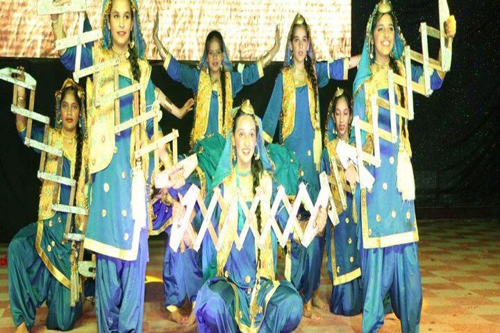 International Public School-Dance activity