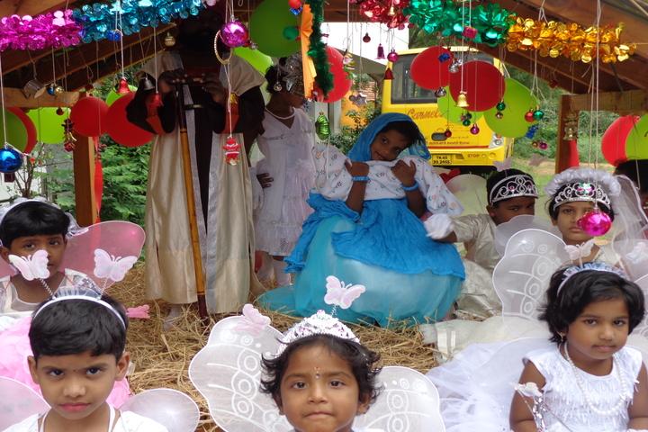 Carmels English School-Christmas Celebration