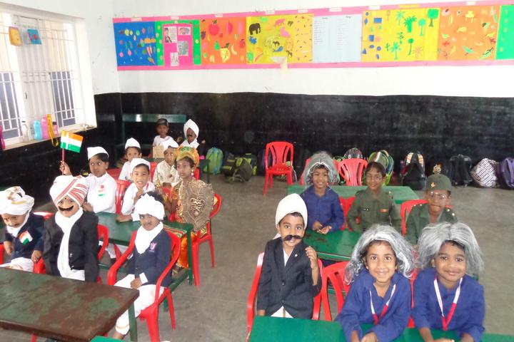 Carmels English School-Independence Day Celebration