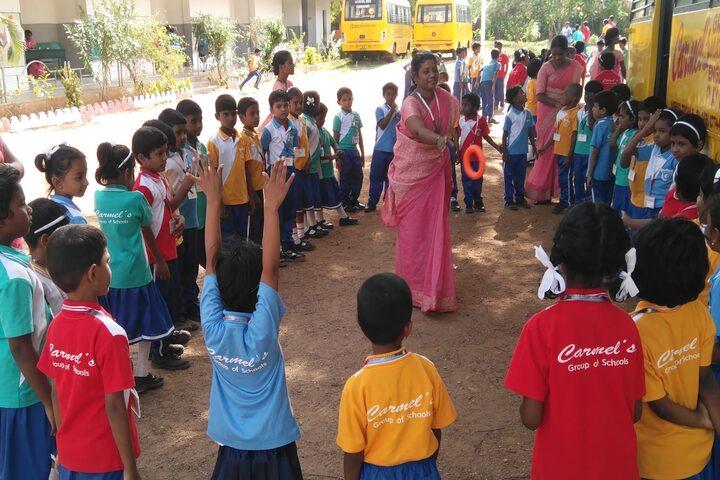 Carmels English School-Outdoor Games