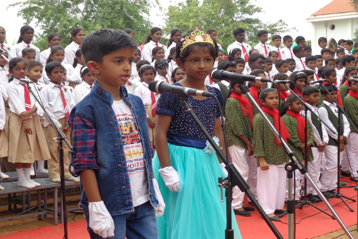 """Carmels English School-Singing Competition"""""""