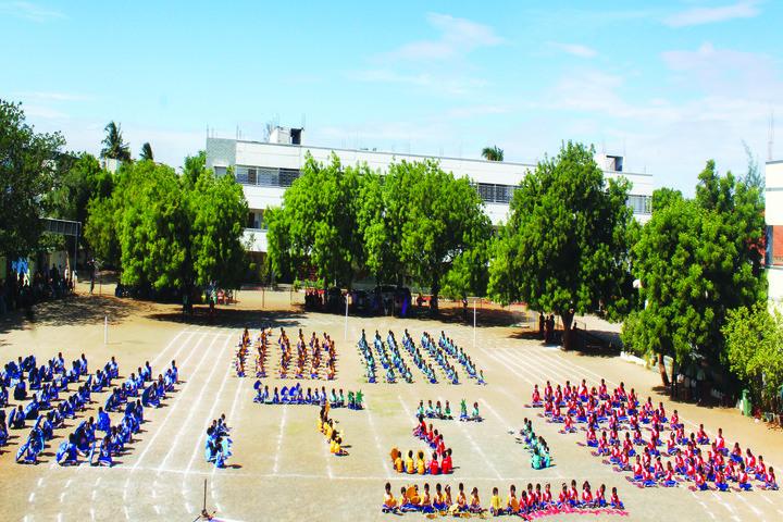 Carmels English School-Sports Day