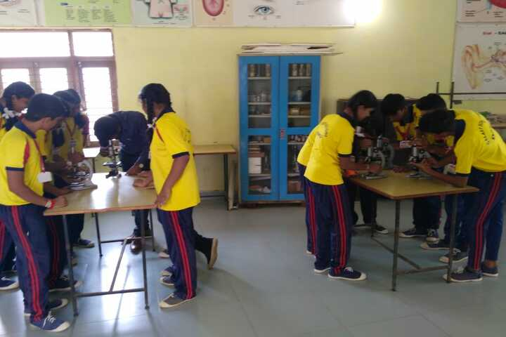 Galaxy English Medium School-Science Lab