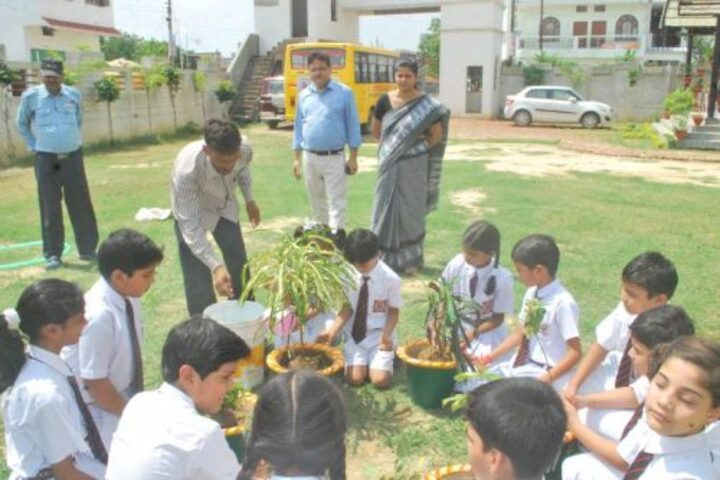 Central Academy-Tree Planting