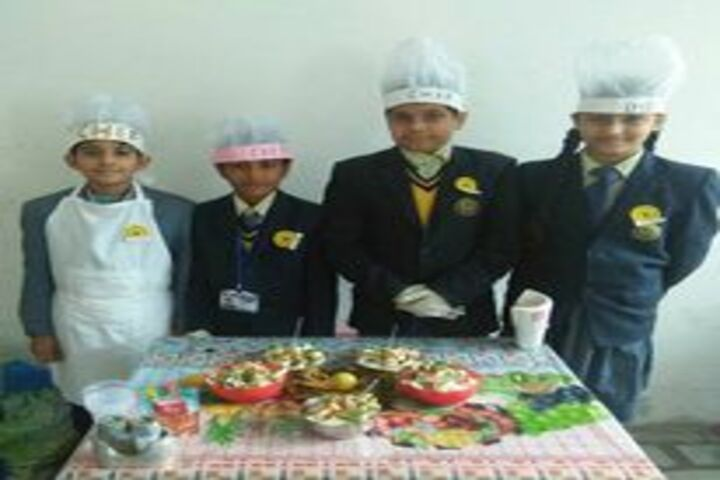 Shri Guru Harkrishan Convent School-Cooking Activities