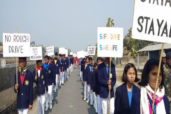 St Pauls School-Rally