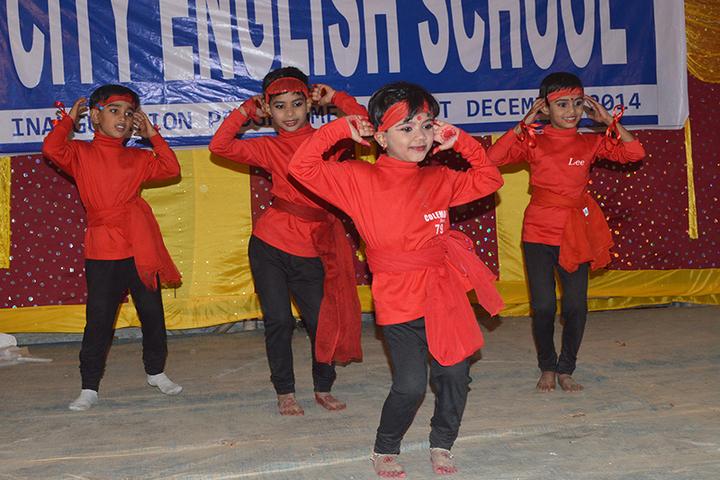 City English School-Dancing Activity