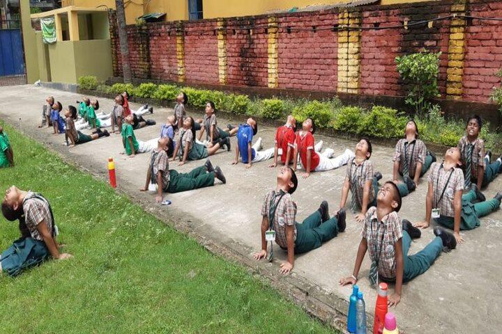 Central Public School-Yoga Activity