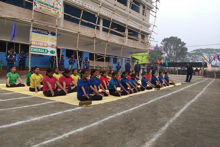 Childrens Academy-Yoga Activity