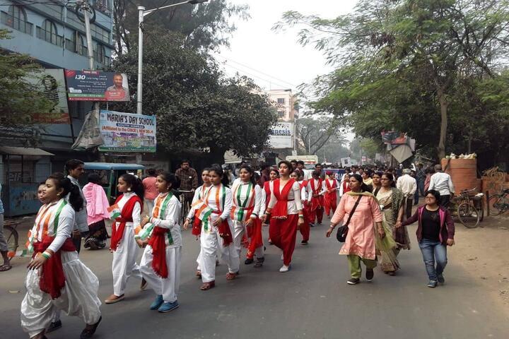Marias Day School-Rally
