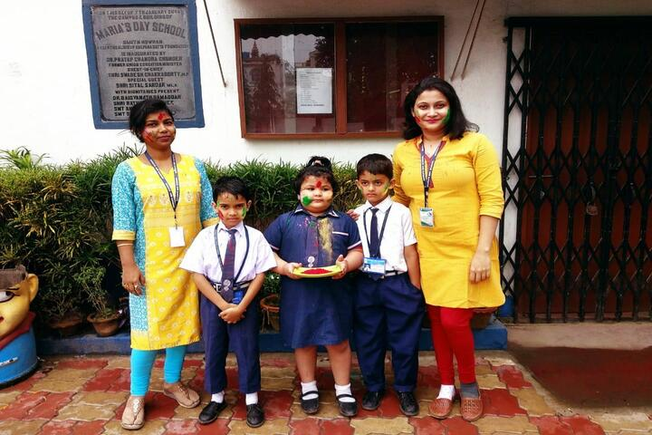 Marias Day School-Holi Celebration