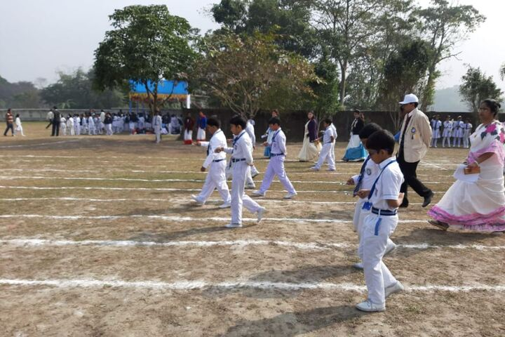 Aurobindo Patha Bhavan English Medium-Sports