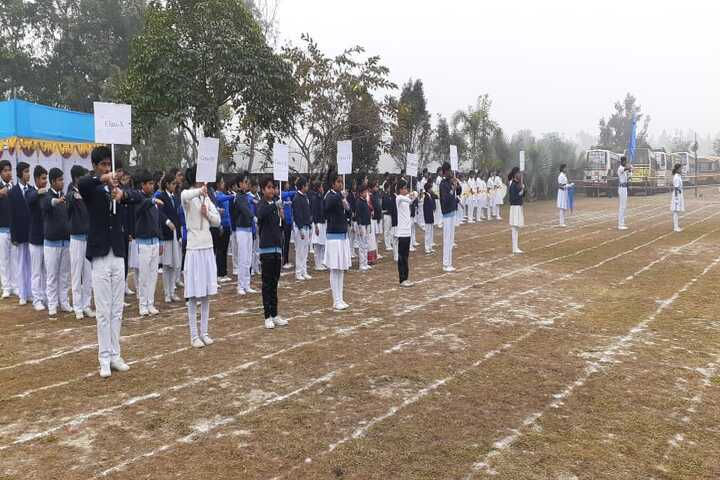 Aurobindo Patha Bhavan English Medium-Sports Day