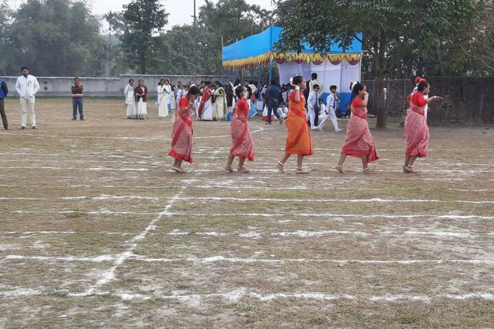 Aurobindo Patha Bhavan English Medium-Traditional Activity