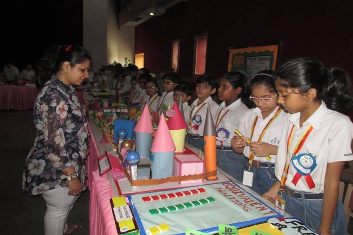 Aadharshila Vidyapeeth--Science Exhibition