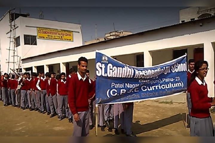 St. Gandhi Residential School - School Building