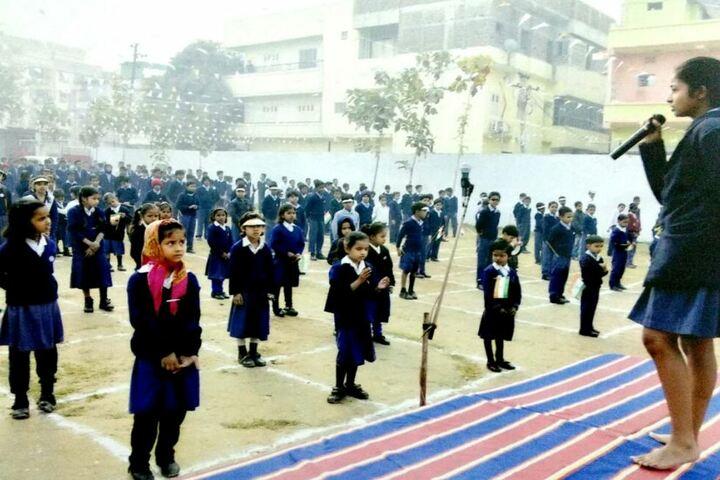 St Gandhi Residential School-Speech
