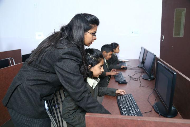 The Aryan International School-Computer Labs