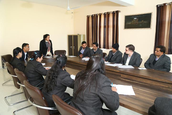 The Aryan International School-Conference Room