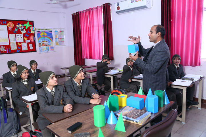The Aryan International School-Maths Labs
