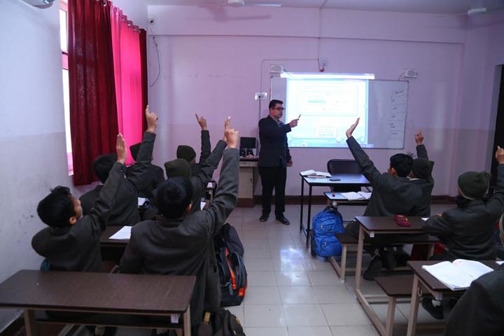 The Aryan International School-Smart Classrooms