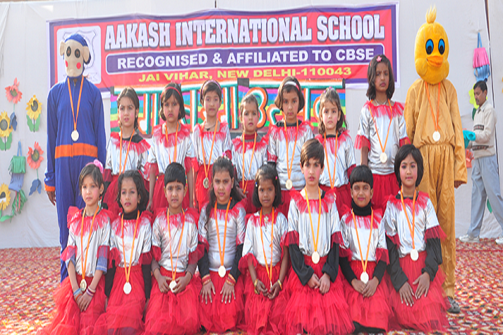 Aakash International School-Red Day