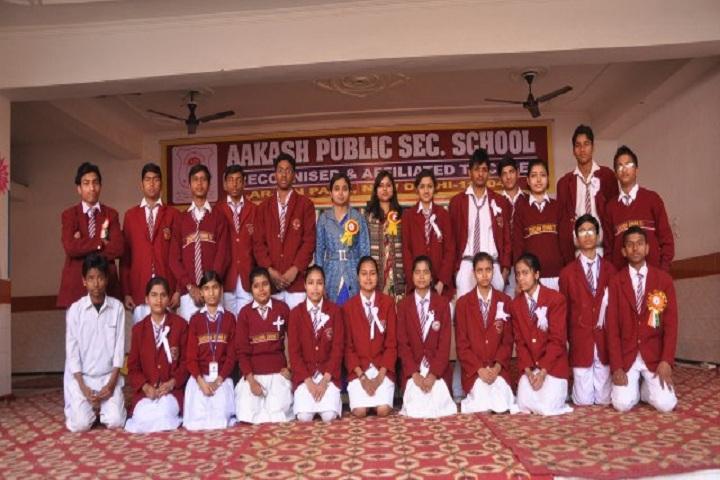 Aakash International School-Students