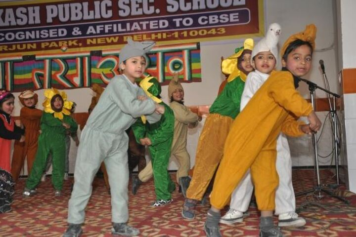 Aakash Public School-Dance
